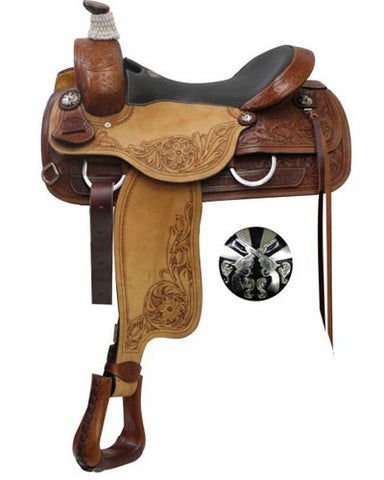 Double T Roping Saddle - #6567