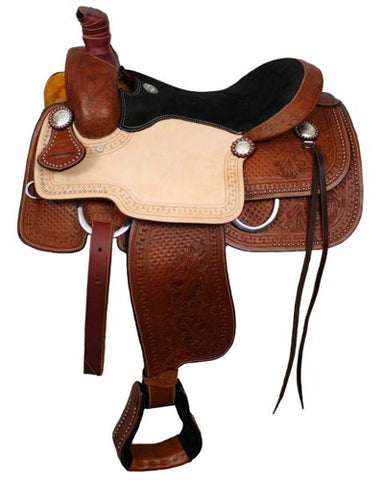 Double T Roping Saddle - #7047