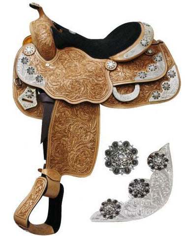 Double T Show Saddle - #653716