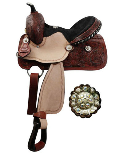Double T Youth Barrel Saddle - #119913