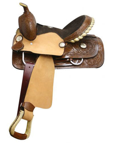 Double T Youth Saddle - #112013