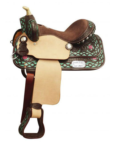 Double T Youth Saddle - #5153
