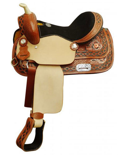Double T Youth Saddle - #5154