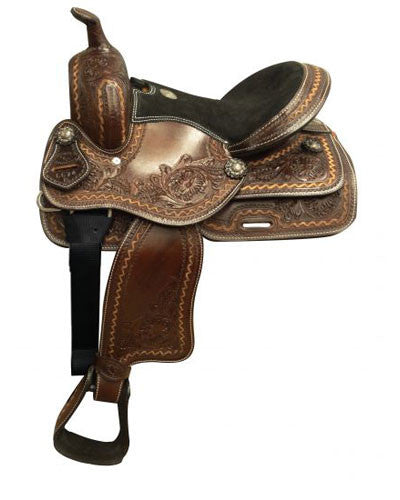 Double T Youth Saddle - #6674