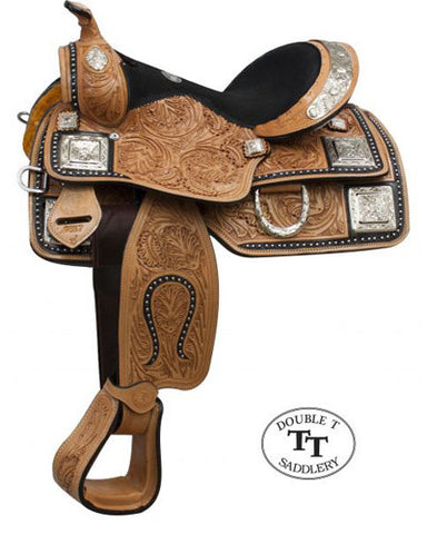 Double T Youth Show Saddle - #965712