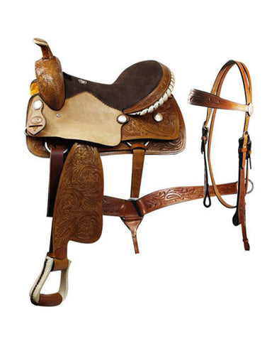 Double T Pleasure Saddle Set - #102516