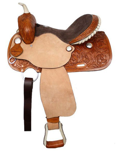 Double T Barrel Saddle - #0254
