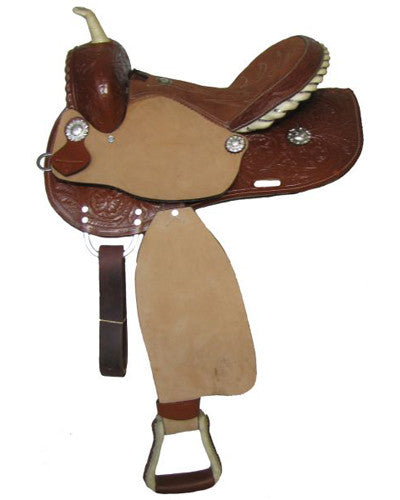 Double T Barrel Saddle - #8491