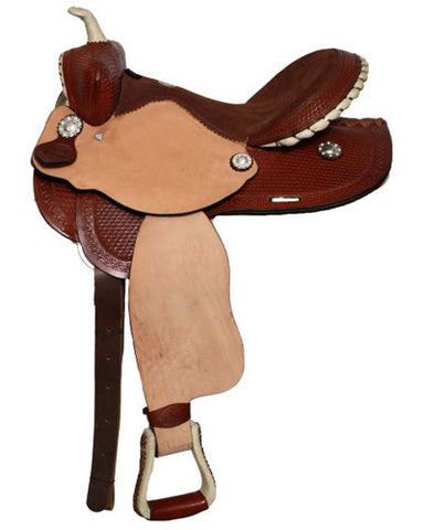 Double T Barrel Saddle - #9574