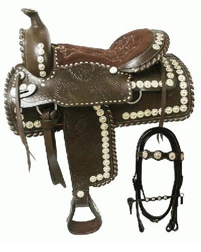 Double T Parade Saddle - #1261