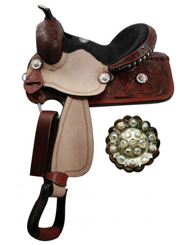 Double T Youth Barrel Saddle - #119912