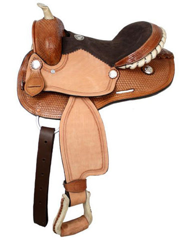Double T Youth Barrel Saddle - #31512