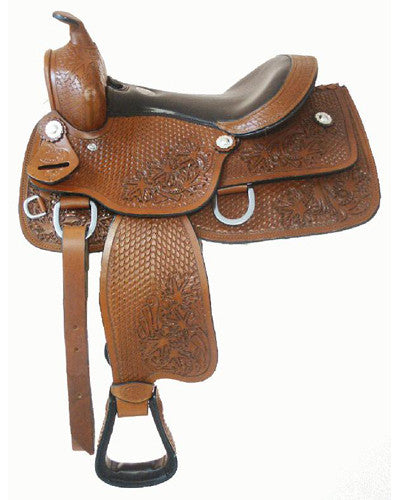 Double T Youth Pleasure Saddle - #625913