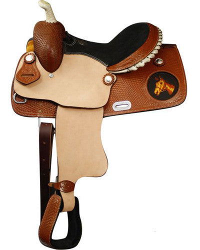 Double T Youth Saddle - #625813
