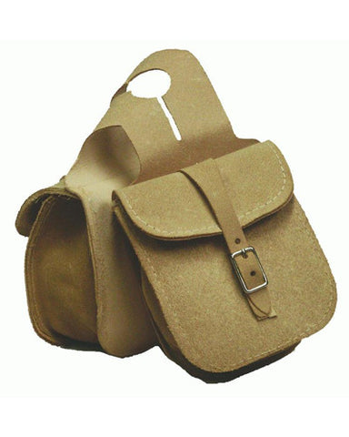 Rough Out Leather Horn Bag - #21202