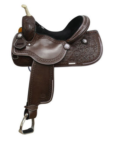 Showman Barrel Saddle - #6529