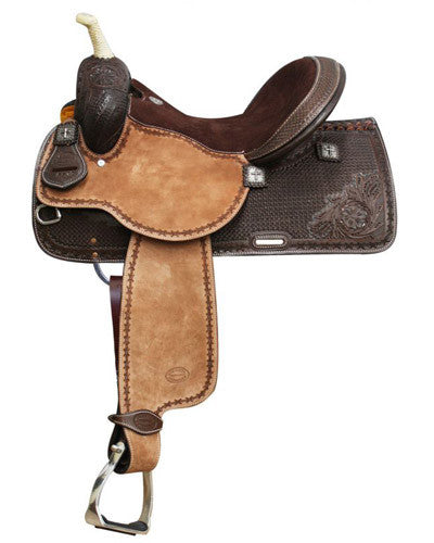Showman Barrel Saddle - #6532