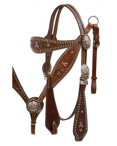 Showman Headstall and Breast Collar Set - #12816