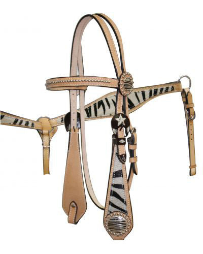 Showman Headstall and Breast Collar Set - #544