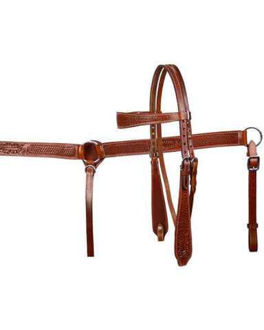 Showman Headstall and Breast Collar Set - #611