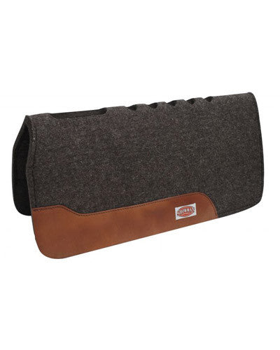 Showman Mohair Wool Saddle Pad - #6060