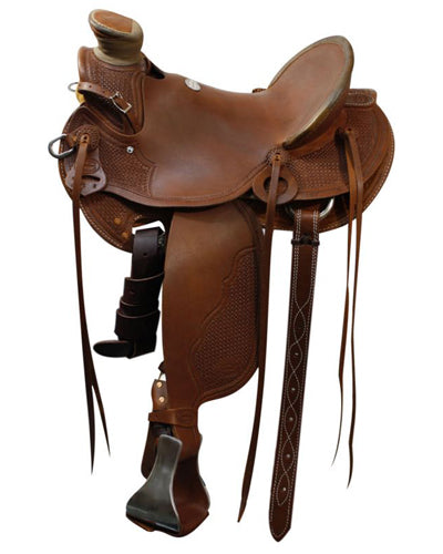 Showman Roping Saddle - #5501