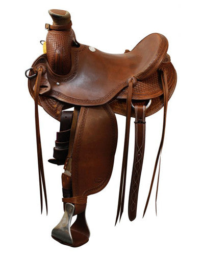 Showman Roping Saddle - #5502