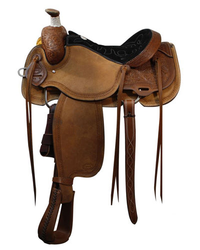 Showman Roping Saddle - #62216