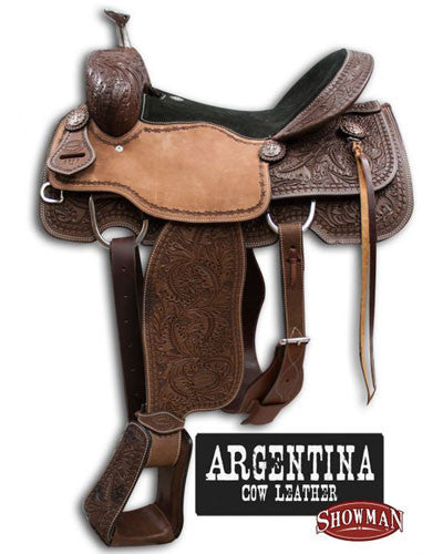 Showman Roping Saddle - #6595