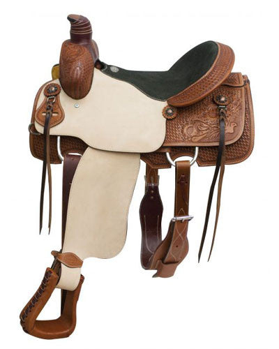 Showman Roping Saddle - #6614