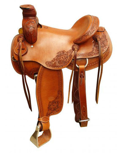 Showman Roping Saddle - #6622
