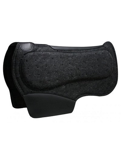 Showman Airflow Felt Barrel Saddle Pad - #313210