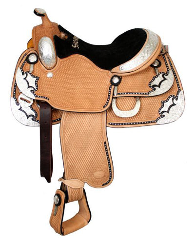 Showman Show Saddle With Matching Headstall - #641316h