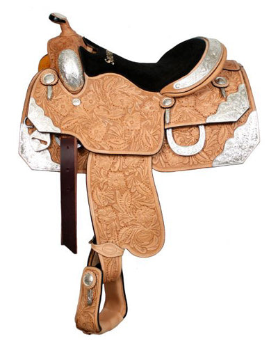 Showman Show Saddle With Matching Headstall - #641416h