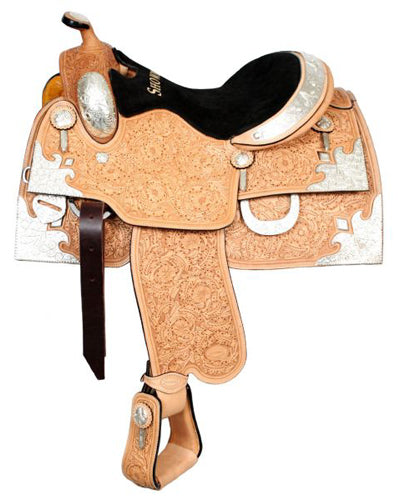 Showman Show Saddle With Matching Headstall - #643416h