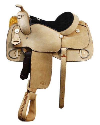 Showman Training Saddle - #5200