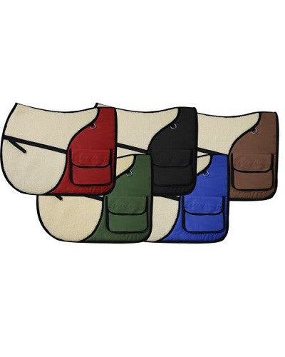 Showman English Saddle Pad - #30976