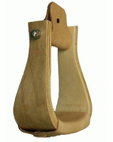Finished Wood Bell Stirrups - #254585
