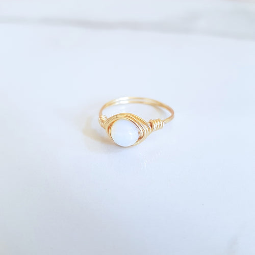 Moon Ring - Opalite