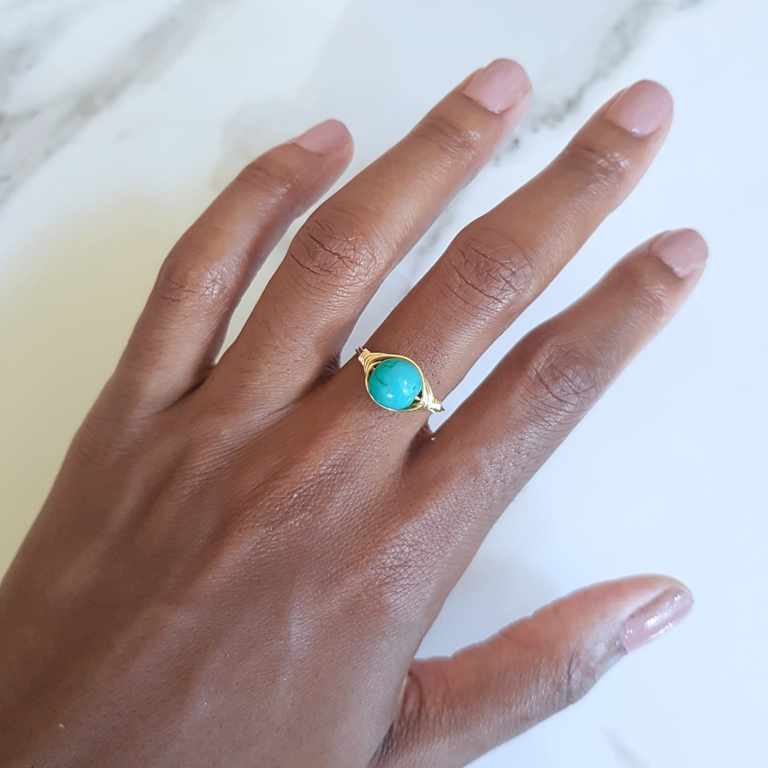 Tide Ring- Turquoise