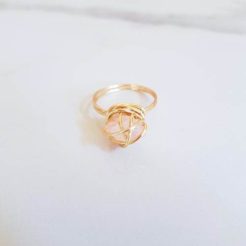 Chaos Ring - Rose Quartz (OAK)