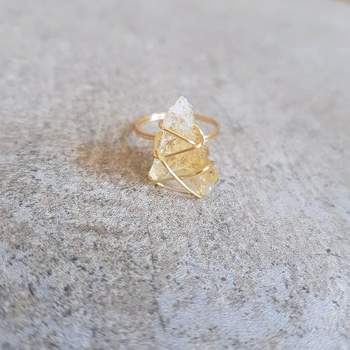Globetrotter Ring - Citrine (OAK)