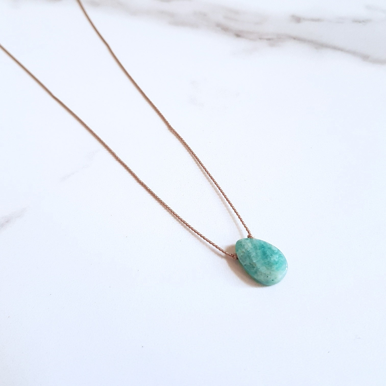 Nylon Dainty - Amazonite