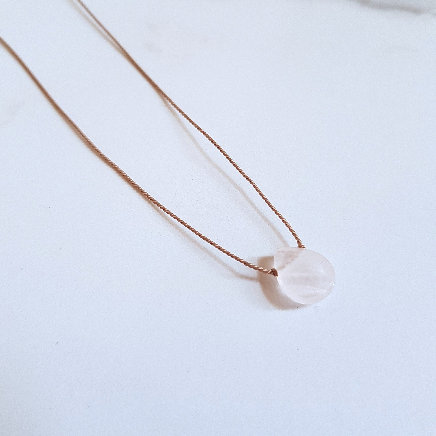 Nylon Dainty - Rose Quartz
