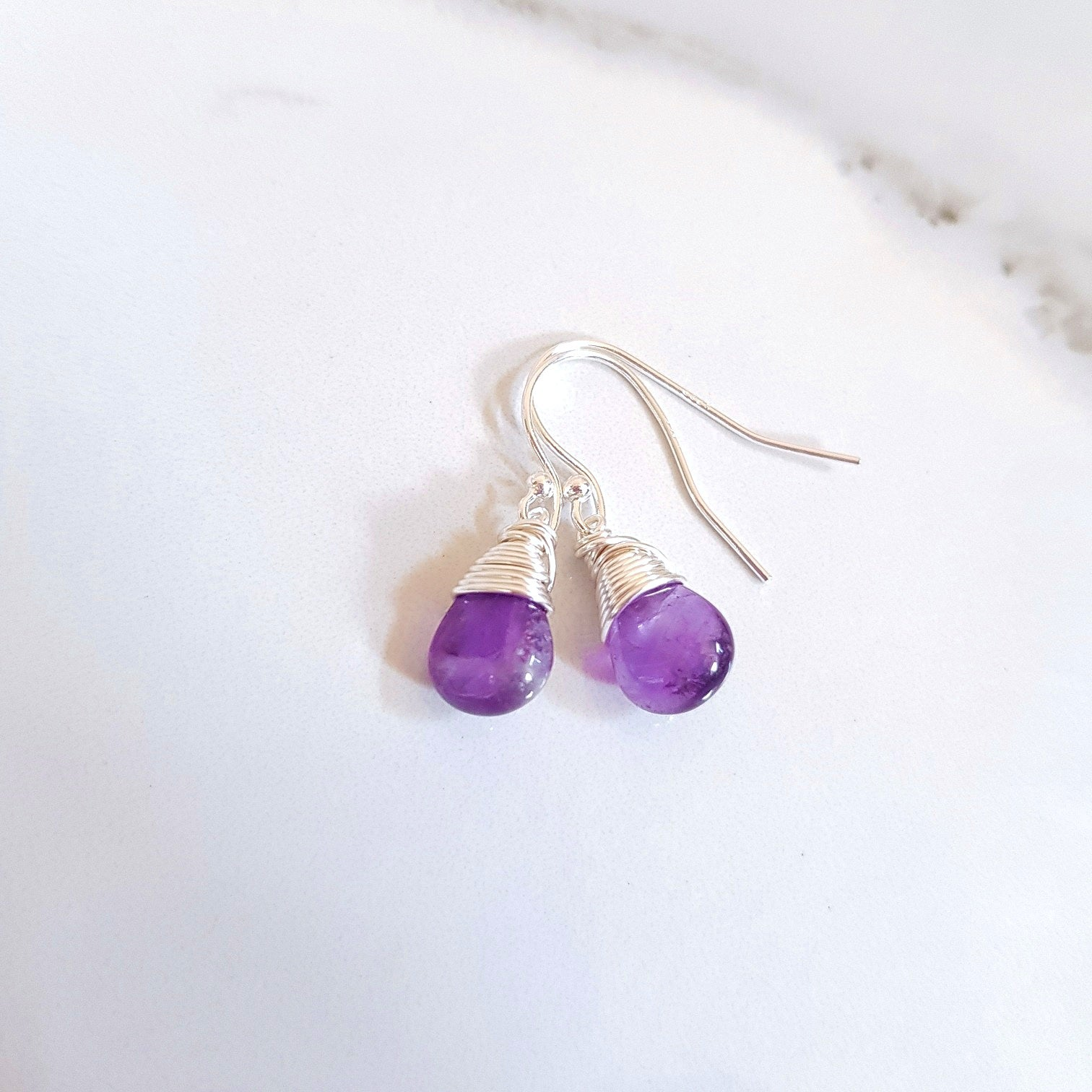 Spirit Earrings - Amethyst