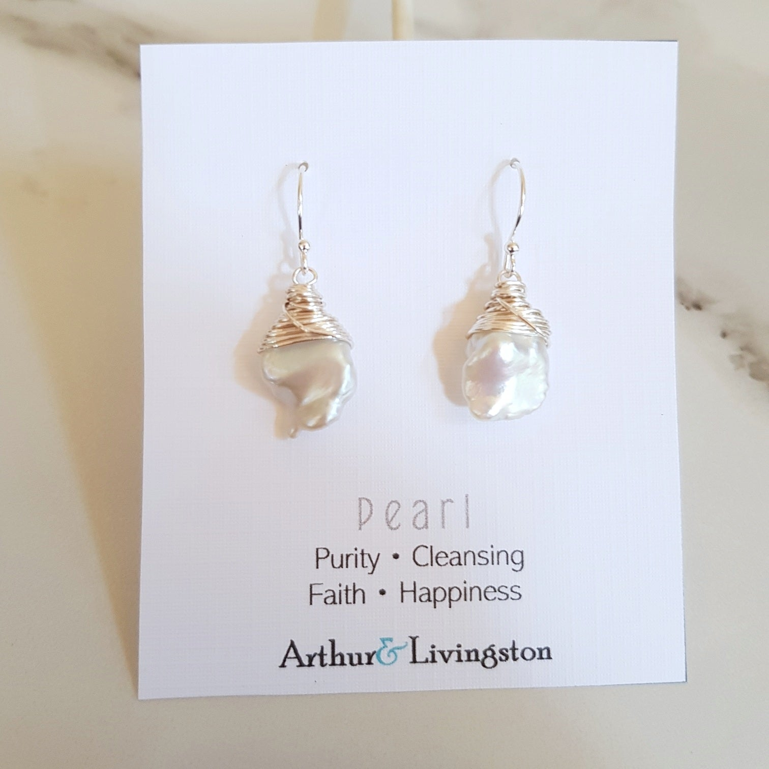 Class Earrings - Freshwater Pearl