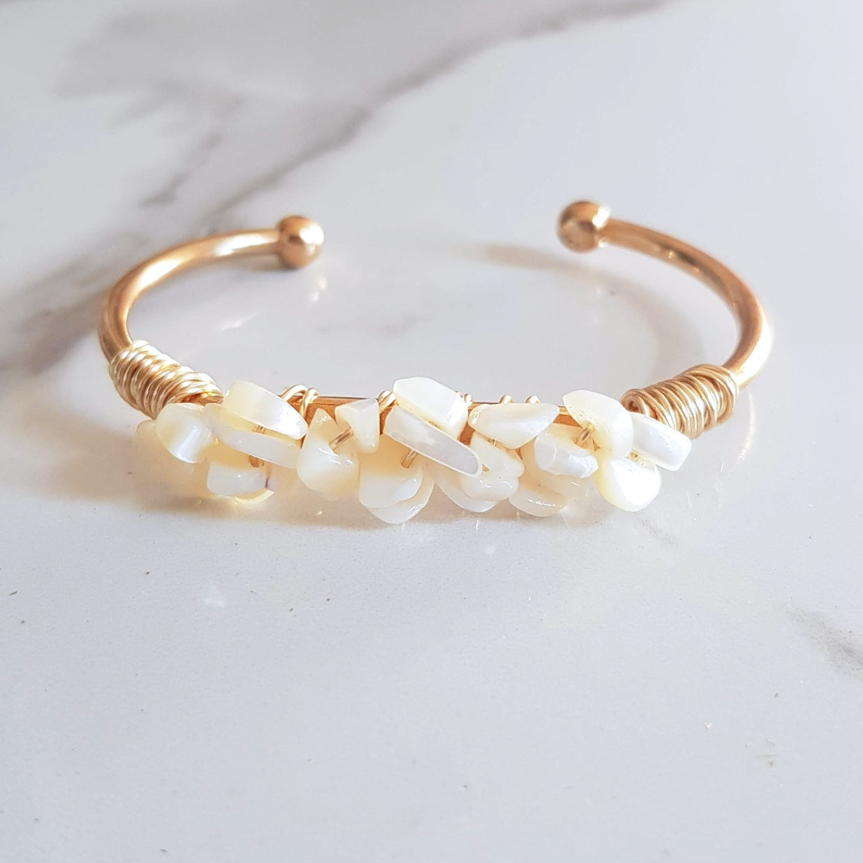Mermaid Cuff - Mother of Pearl
