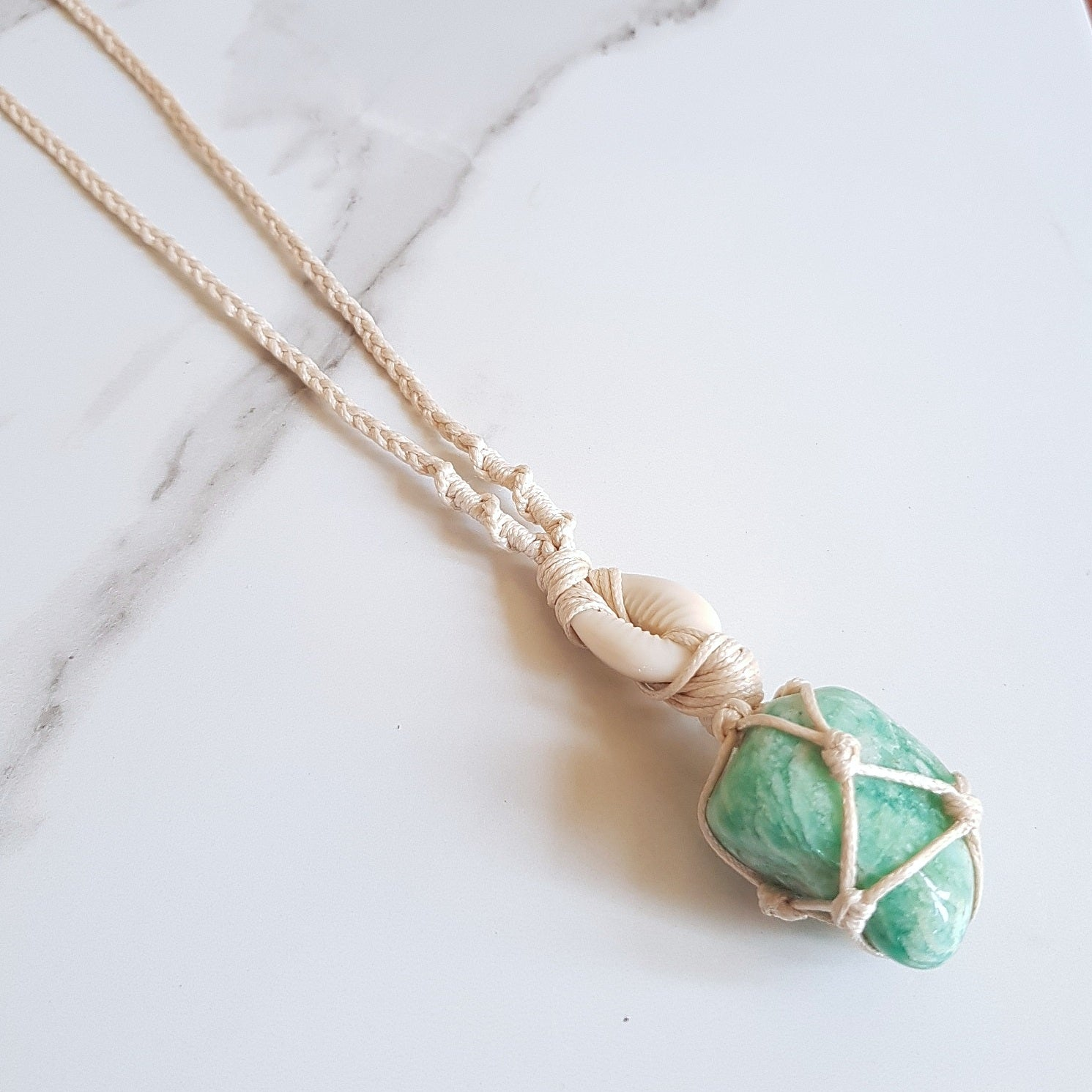 Goddess Necklace - Amazonite