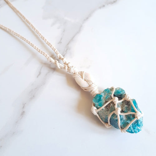 Goddess Necklace - Apatite