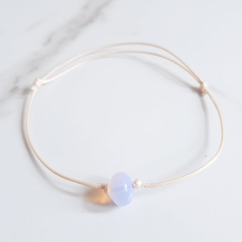 Gemstone Anklet - Citrine
